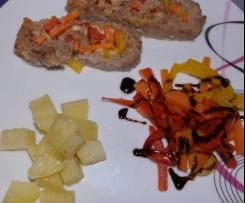 Polpettone verdure e formaggio