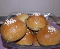 Panini dolci all'uvetta (con lievito madre)