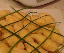 Polpette di baccalà con mele glassate - contest polpette non fritte