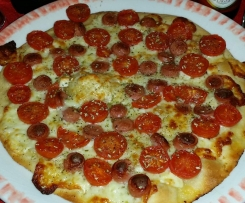 Pizza pomodorini e primo sale