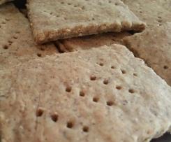 Crackers senza glutine di Okara e Sesamo