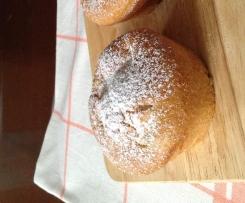 Muffin con mele (senza uova e burro)