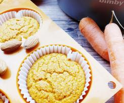 Tortine rustiche alle carote, arancia e mandorle (senza glutine né lattosio)