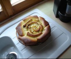 Torta sofficiosa alla panna e gocce di cioccolato Pestifera Version