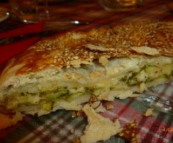 torta salata alle zucchine