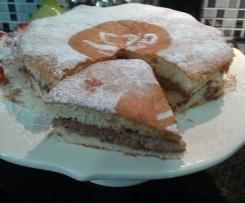Torta versata...una torta ripiena cotta interamente in forno...