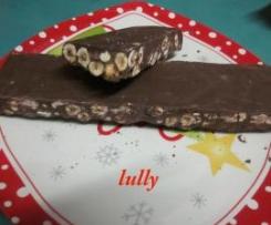 torrone cioccolato e nocciole (Natale)