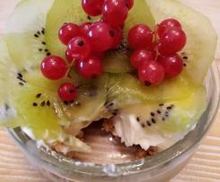 Mini cheescakes allo yogurt greco e frutta (contest dolci fit senza uova e burro)