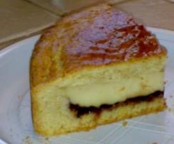 torta pasticciotto con sorpresa