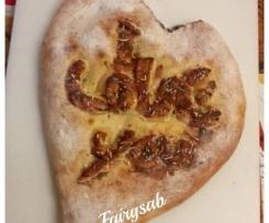 Pizza Sweet Heart (pizza dolce di San valentino)