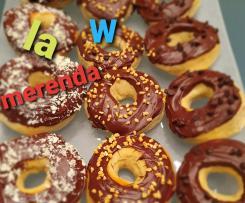 Merenda donuts&frullato (senza latte) Contest Ricette per bambini