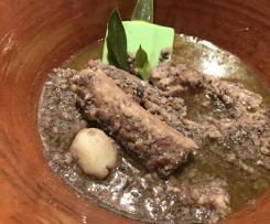 Pesce a BURRIDA CAGLIARITANA/Contest piatti freddi di pesce