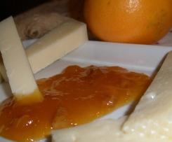 Marmellata di arance, zenzero e noci