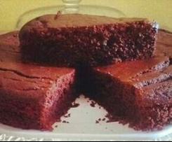 Torta nera sofficissima della mia amica Silvana