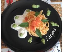 Pasta risottata tricolore -contest tricolore-