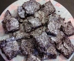 Brownies al cioccolato e arancia