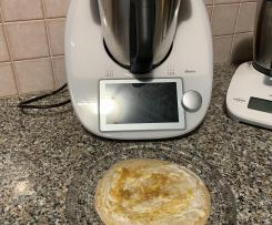 Pancake proteico al varoma (per 1 persona)