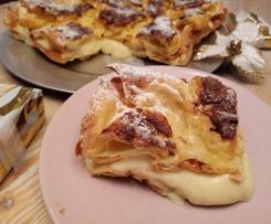Torta Bignè al Cioccolato Bianco