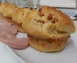 Muffin Scamorza e Mortadella