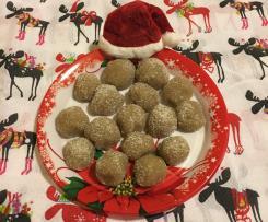 Gueffus al mirto senza forno-Contest Natale