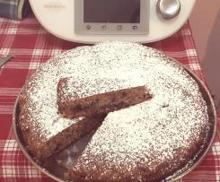 Torta di ricotta e cioccolato (con farina integrale)