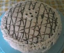 torta al limone farcita con crema bimby  e panna