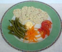 Salame di pollo variegato