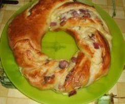 Angelica salata con provolone piccante e speak a dadini