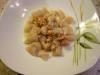 Gnocchi di patate con fonduta di gorgonzola e noci