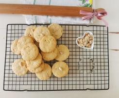 Biscotti Bimby arachidi e zucchero di canna
