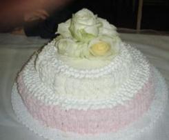 torta con le rose