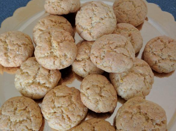 Ricetta Biscotti Semplici.Biscotti Semplici Al Mais