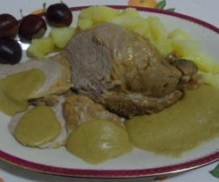 Filetto di maiale ai sapori d'autunno