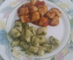 Gnocchi  di patate  americane  o dolci