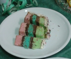 base torta colorata
