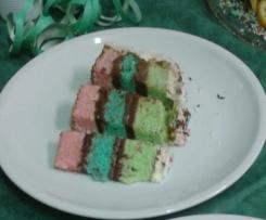 base torta colorata