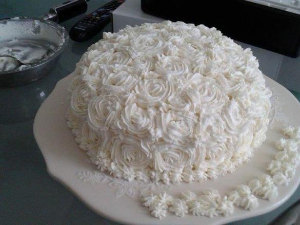 Torta Compleanno Floreale Con Crema Pasticciera Nocciola E Gianduia
