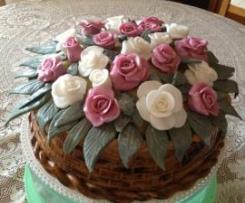Cesto di Rose (Madeira Cake)