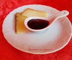 Gelatina di mirtilli e vino rosso
