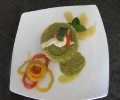 Riso in salsa di Zucchine con Nodini di Pollo e Peperoni al Varoma-Team Sellari-