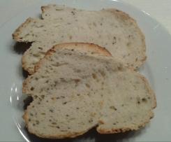 Pane croccante ai semi di chia
