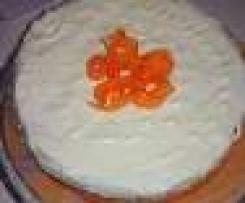 Torta di carote con frosting al mascarpone e philadelphia