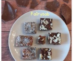 Barrette di cioccolato & cereali (riciclo uova pasquali)