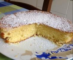 WHIPPED CREAM CAKE - ricetta di Marta Stewart adattata