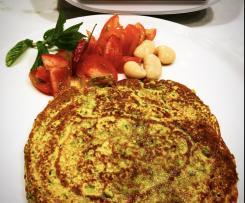Uttapan pancake indiano