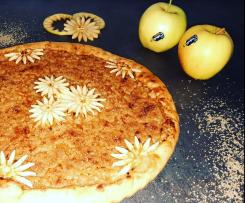 Crostata di mele croccante