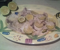 Pesce spada al limone