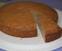 Torta soffice senza glutine al gusto di castagne