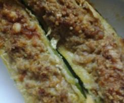 barchette di zucchine (MO col Crisp)