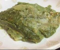 Lasagna veloce agli spinaci